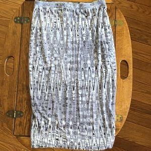 Matty M grey pencil skirt